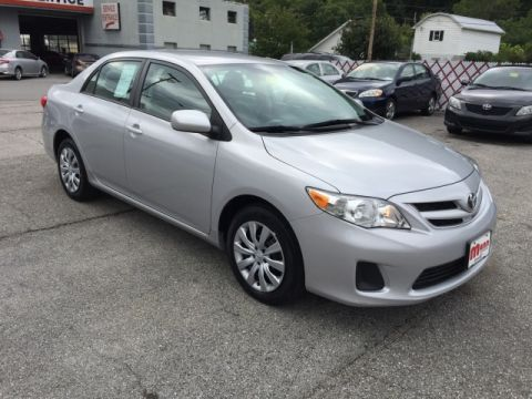 Pre-Owned 2012 Toyota Corolla  Front-wheel Drive Sedan